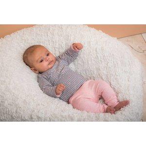 DIRKJE BABYKLEDING baby t-shirt longsleeve stripe basics grey melee + stripe