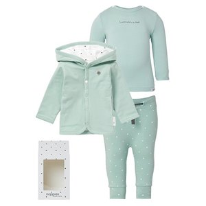NOPPIES Nos Cadeauverpakking luxe grey mint