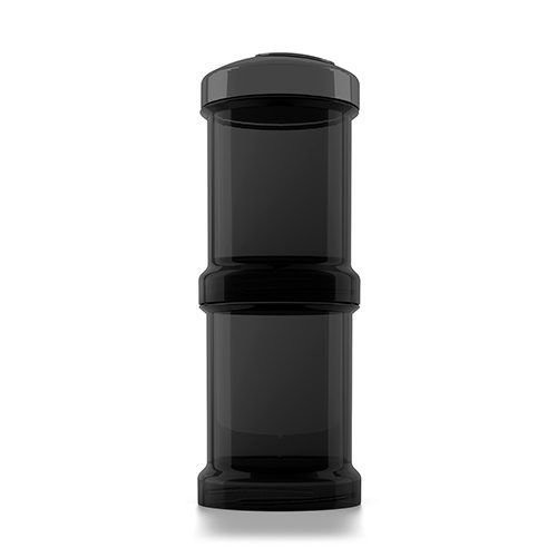 Twistshake Twistshake Fles container 2x 100ML black