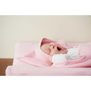 NOPPIES nos bath cape nus 75x75cm light pink