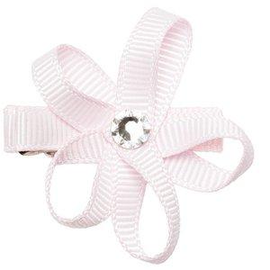 PRINSESSEFIN Baby speld met bloem icy pink