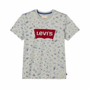LEVI'S jongens t-shirt grey melange