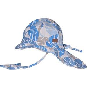 MELTON MELTON zonnehoed neck & bow girl/boy corydalis blue