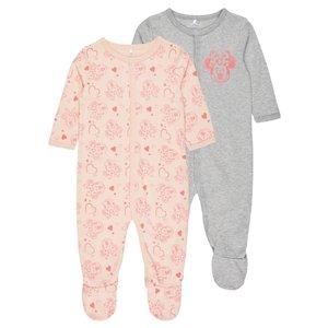 NAME IT meisjes 2-pack pyjama peachy keen minnie nos