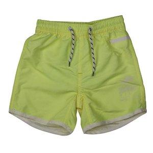 LENTIGGINI summerboy zwembroek neon yellow / white