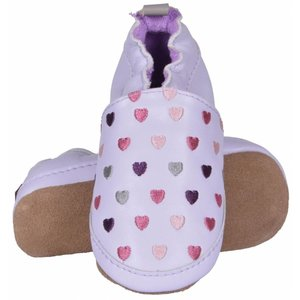 MELTON schoenen blue ice purple hearts