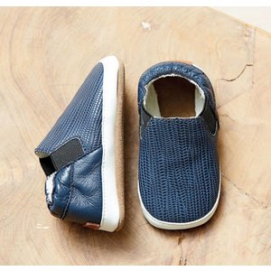 MELTON schoenen blue nights slip on