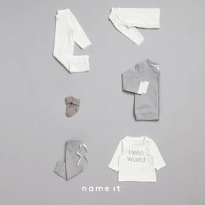 NAME IT NAME IT unisex delimo sweatvest silver sconce nos