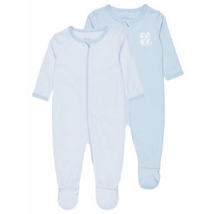 NAME IT jongens nightsuit 2 piece boxpak cashmere blue nos