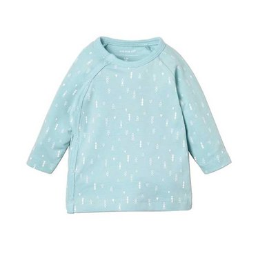 NAME IT NAME IT unisex delucious wrap longsleeve noos canal blue