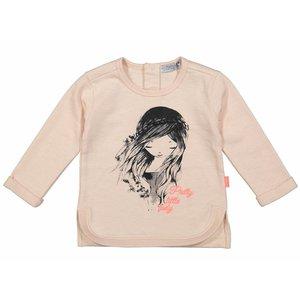 DIRKJE BABYKLEDING meisjes trui pink pretty lady