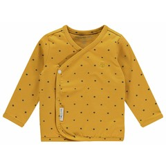 NOPPIES unisex longsleeve honey yellow taylor