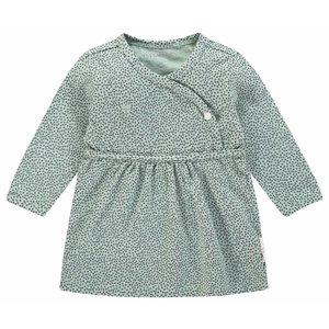 NOPPIES meisjes jurk grey mint mattie