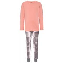 NAME IT meisjes 2 delige pyjama rose tan