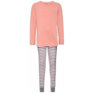 NAME IT meisjes 2 delige pyjama rose tan nos