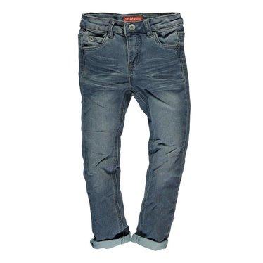 TYGO & VITO Tygo & Vito jongens slimfit jog jeans medium blue