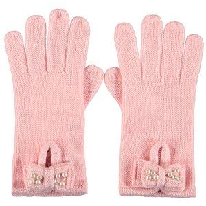 LE CHIC meisjes handschoenen pink crystal