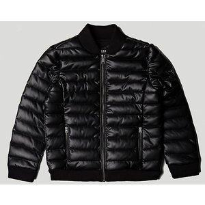Guess jongens jas jet black
