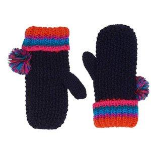 LE BIG meisjes handschoenen black iris kristiane