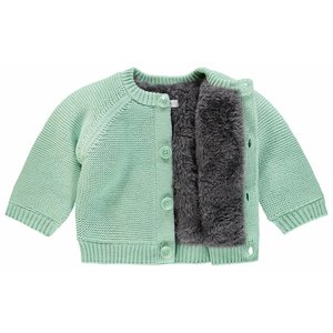 NOPPIES NOPPIES unisex vest grey mint lou