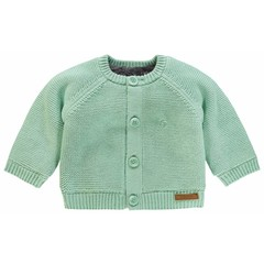 NOPPIES unisex vest grey mint lou