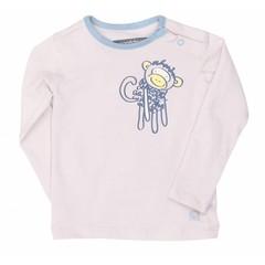 MOODSTREET meisjes t-shirt little wise one mauve