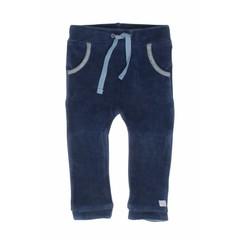 MOODSTREET meisjes legging cuff detail petrol blue