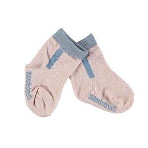 MOODSTREET meisjes sokken mauve