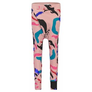 Nop meisjes broek pink windham aop