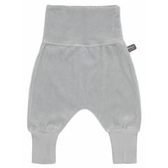 SNOOZEBABY unisex joggingbroek grey velours