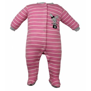 Pekkle meisjes babysuit magic hat roze