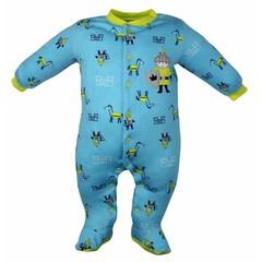 Pekkle jongens babysuit knght blauw