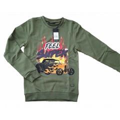 CARS JEANS jongens kjeld sweater army