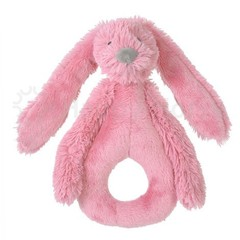 HAPPY HORSE meisjes deep pink rabbit richie rattle
