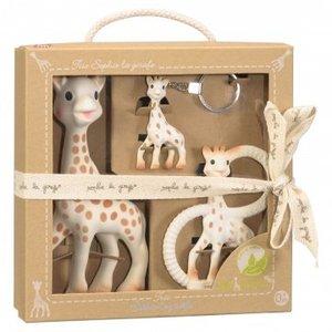 KLEINE GIRAF Kleine Giraf sophie de giraf so'pure trio geschenkdoos