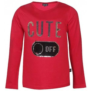 KIDS - UP meisjes longsleeve tango red