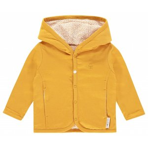 NOPPIES unisex vestje reversible haye honey yellow