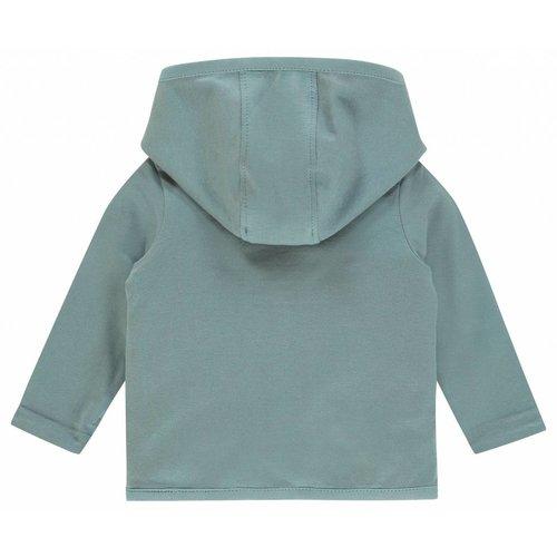 NOPPIES Noppies unisex vestje reversible haye grey mint