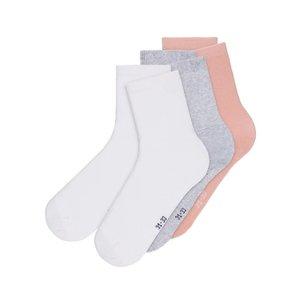 NAME IT meisjes 5-pack sokken rose tan nos