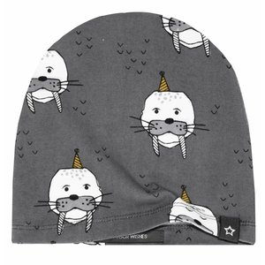 YOUR WISHES unisex muts wallie charcoal