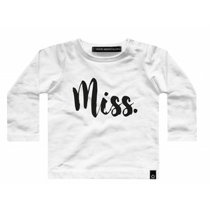 YOUR WISHES meisjes longsleeve miss. white nos