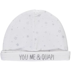 Quapi unisex muts light grey star zia