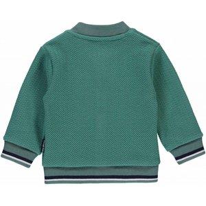 Quapi Quapi jongens vest vintage green zander nos