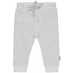 Quapi unisex joggingbroek light grey star zaza