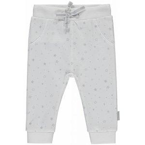 Quapi unisex joggingbroek light grey star zaza nos
