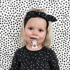 YOUR WISHES meisjes hoofdband sprinkles black nos