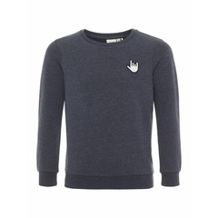 NAME IT meisjes berbel sweater noos dark sapphire