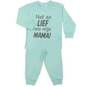 FUN2WEAR meisjes lief als mama pyjama yucca