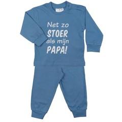 FUN2WEAR jongens stoer als papa pyjama allure