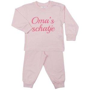 FUN2WEAR meisjes oma's schatje pyjama barely pink